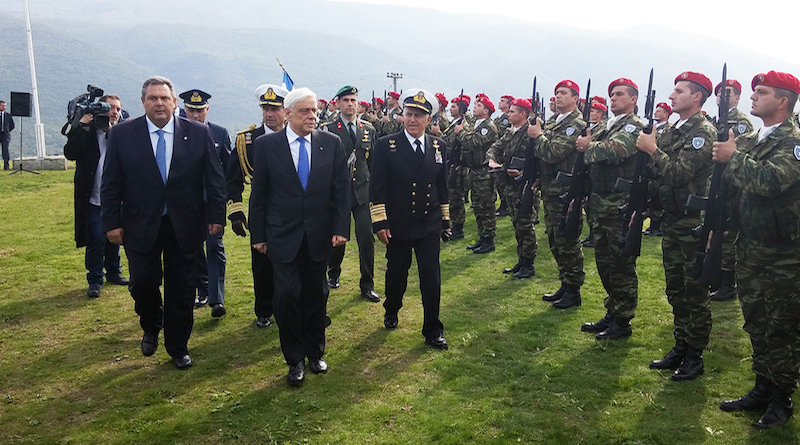 Pavlopoulos Kammenos Fort Roupel embassynews