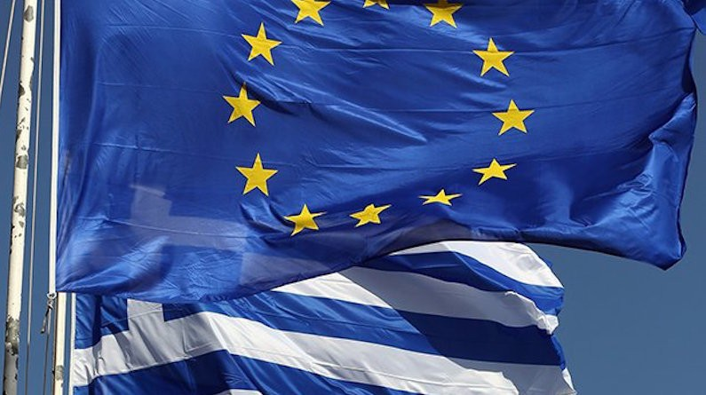 EU Greek flags_embassynews