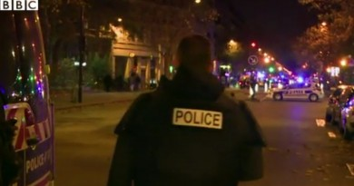 Terror returns to Paris