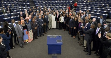 28th ACP-EU Joint Parliamentary assembly in Strasbourg Family photo