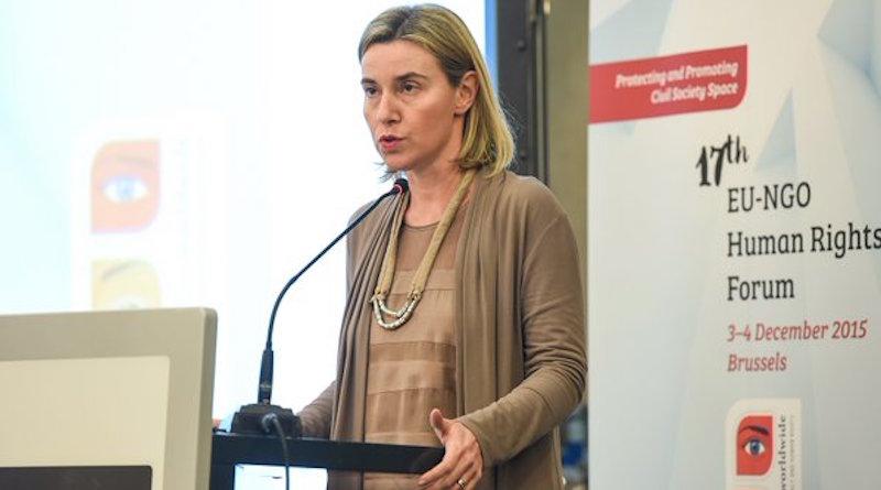 Mogherini_EU NGO_Twitte_embassynews