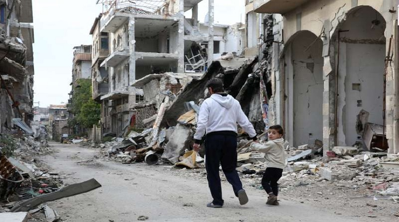 As war enters 7th tear, UNHCR warns Syria is 'at a crossroads'