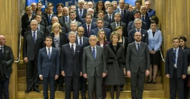Minute of silence - European Union