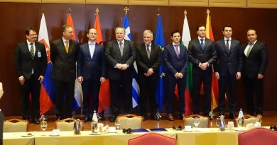Greece, FYROM, Albania Bulgaria meeting