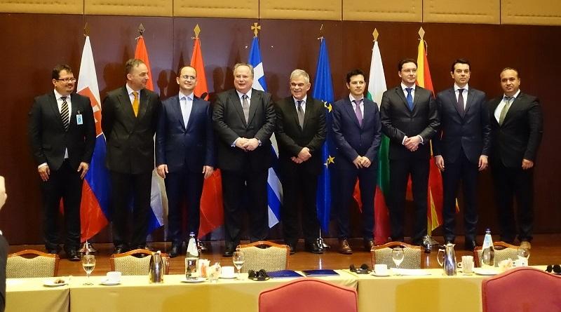 Greece, FYROM, Albania Bulgaria meeting