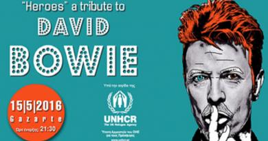 Heroes David Bowie concert