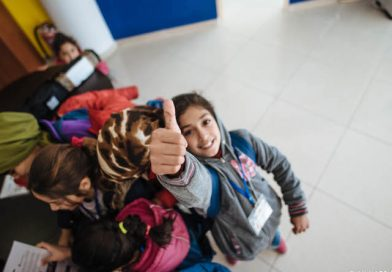 UNHCR and 'Save the Children' organisation launch education space LEDU on Leros island