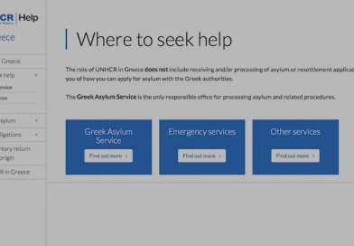 UNHCR launches HELP, new information platform for refugees in Greece