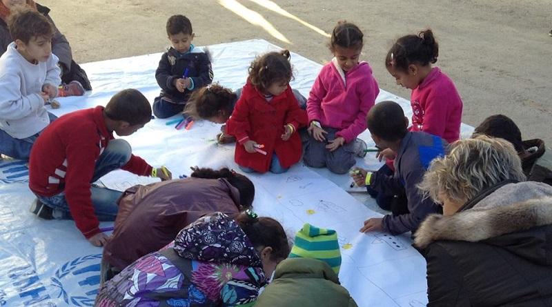 Deutsche Schule Athen refugees