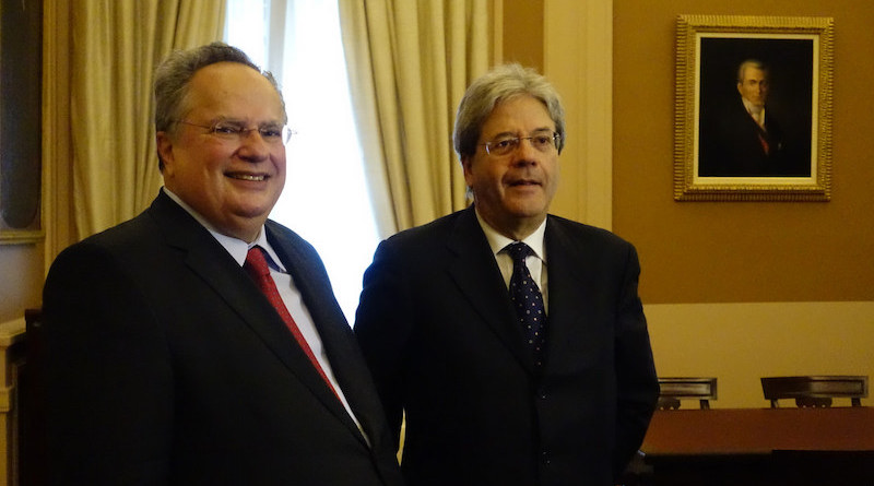 Kotzias Gentiloni_MFa_embassynews