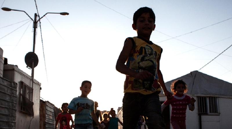 Zaatari Camp for Syrian refugees.