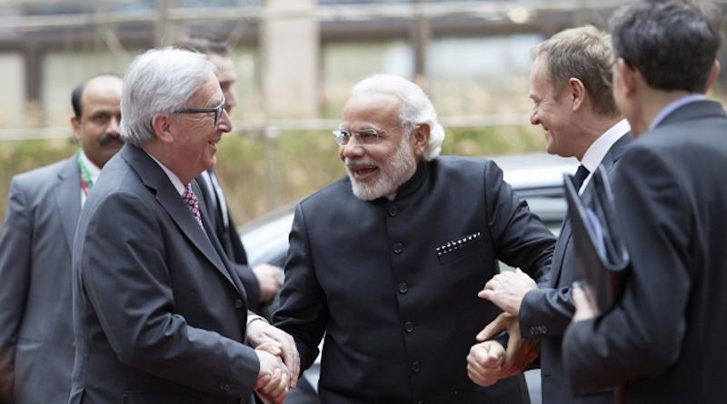 Juncker_Modi_Tusk_EU Newsroom_embassynews