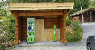 electric car charges Norway