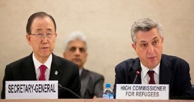 Ban Ki-moon Philippo Grandi