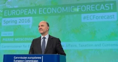 Moscovici spring forecast
